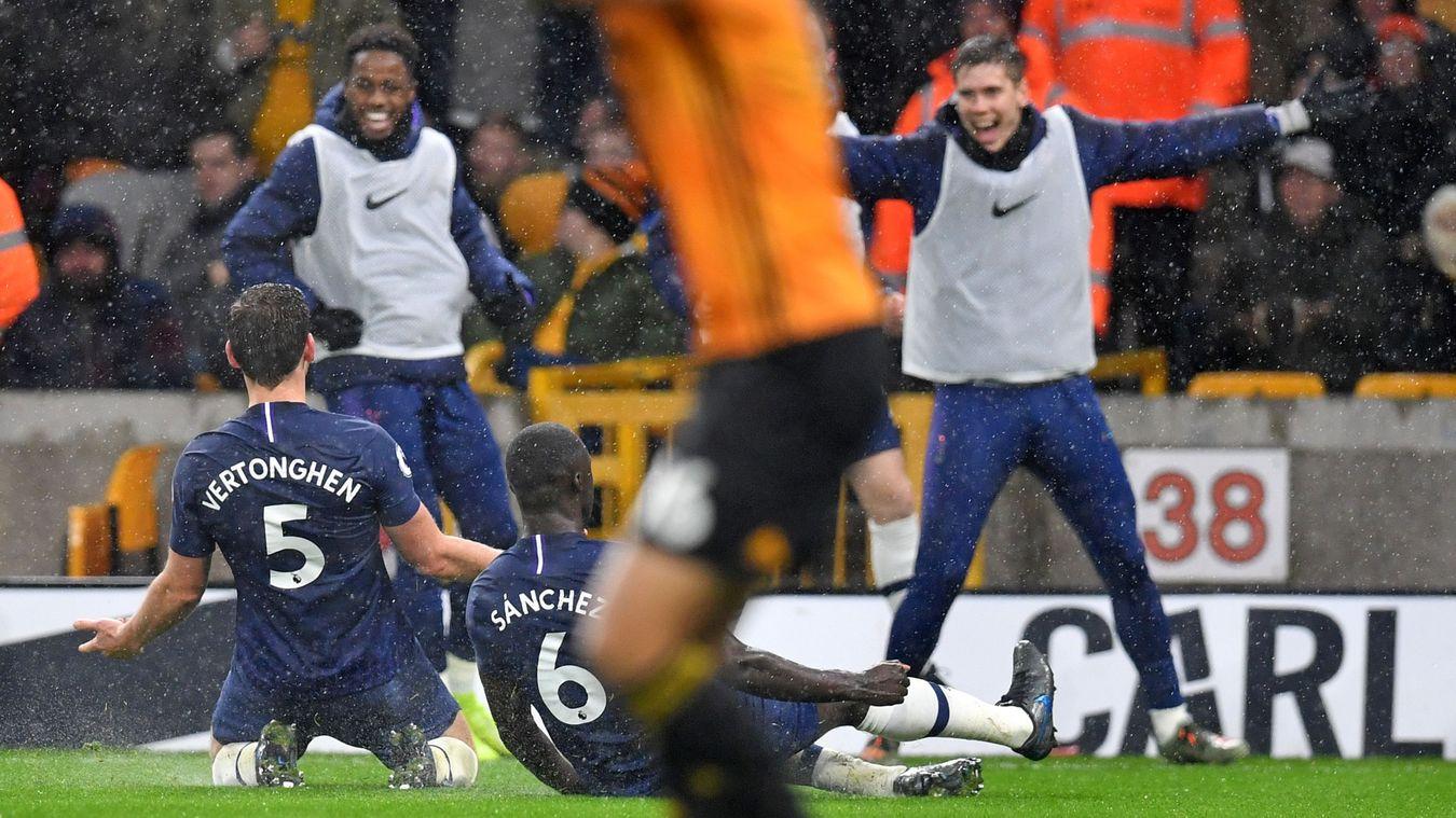 Wolverhampton Wanderers 1-2 Tottenham Hotspur