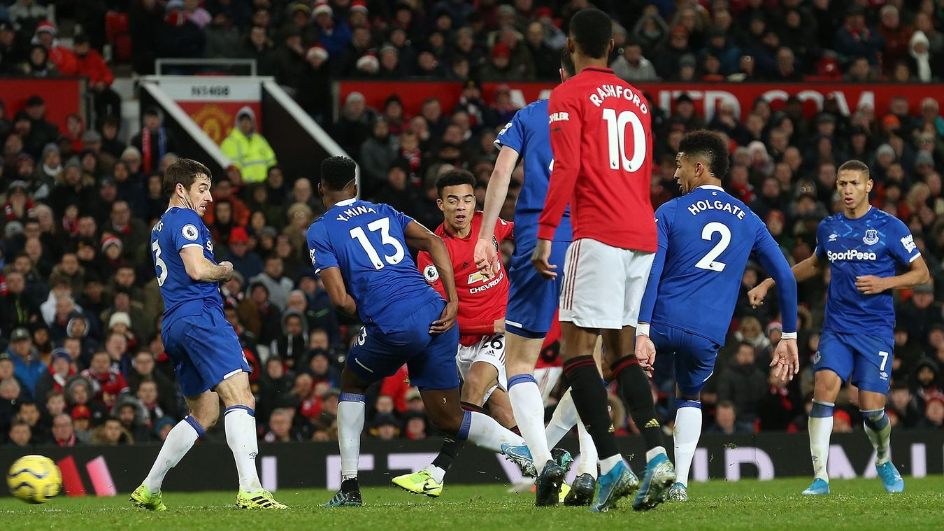 Manchester United 1-1 Everton