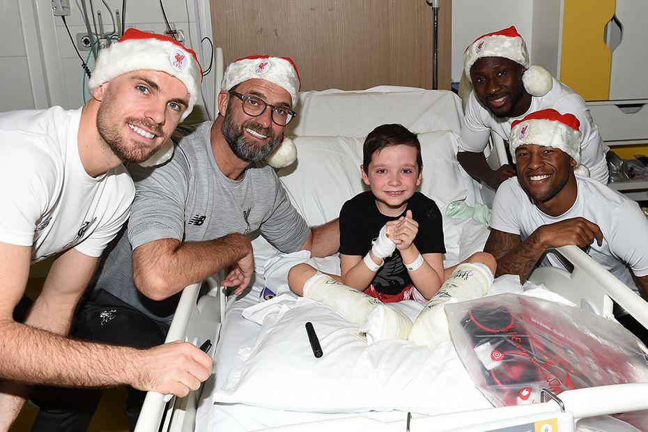 Liverpool hospital visit, Alder Hey