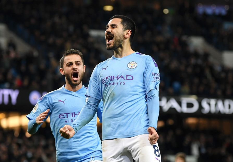 Ilkay Gundogan, Man City