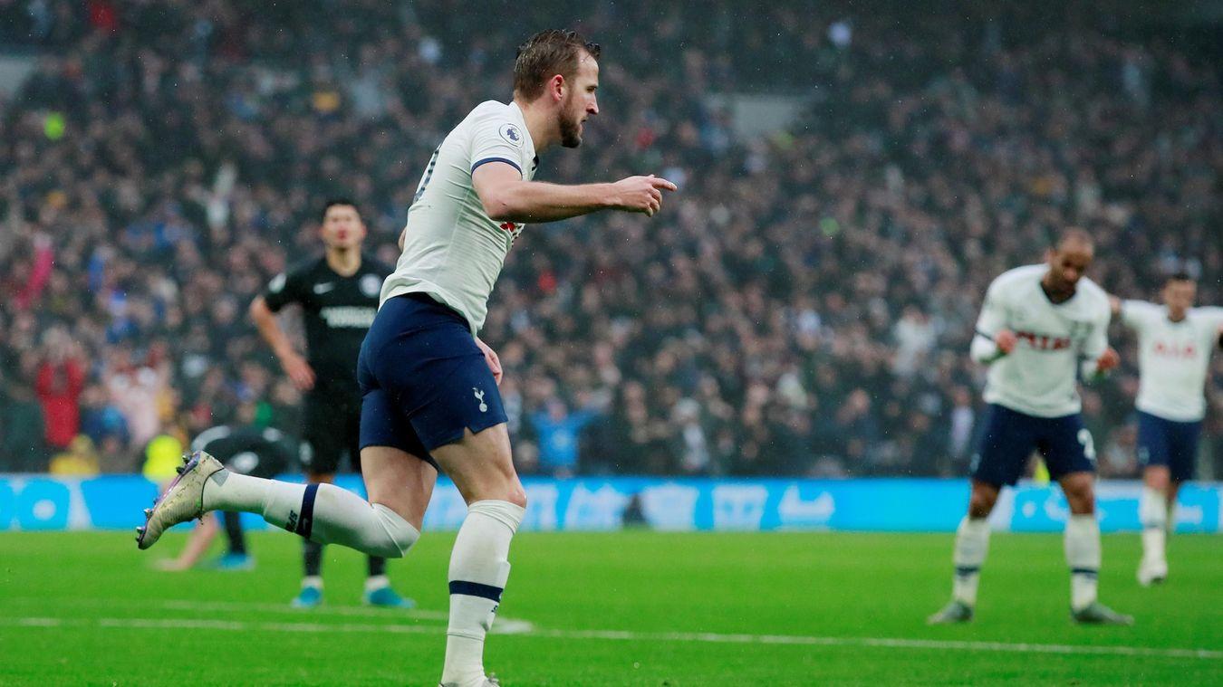 Tottenham Hotspur 2-1 Brighton & Hove Albion