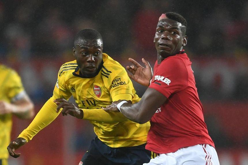 Pepe, Pogba, Man Utd v Arsenal