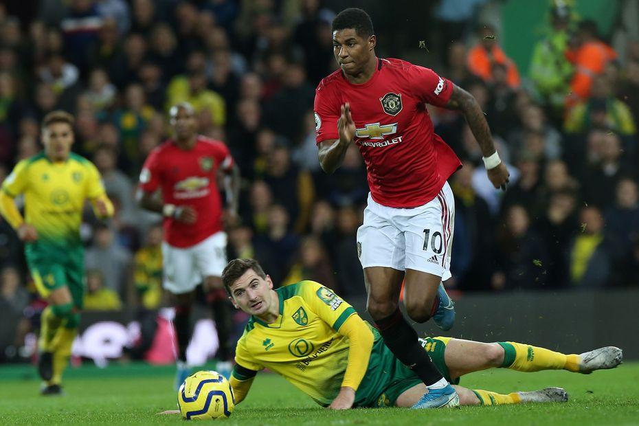 Marcus Rashford, Man Utd
