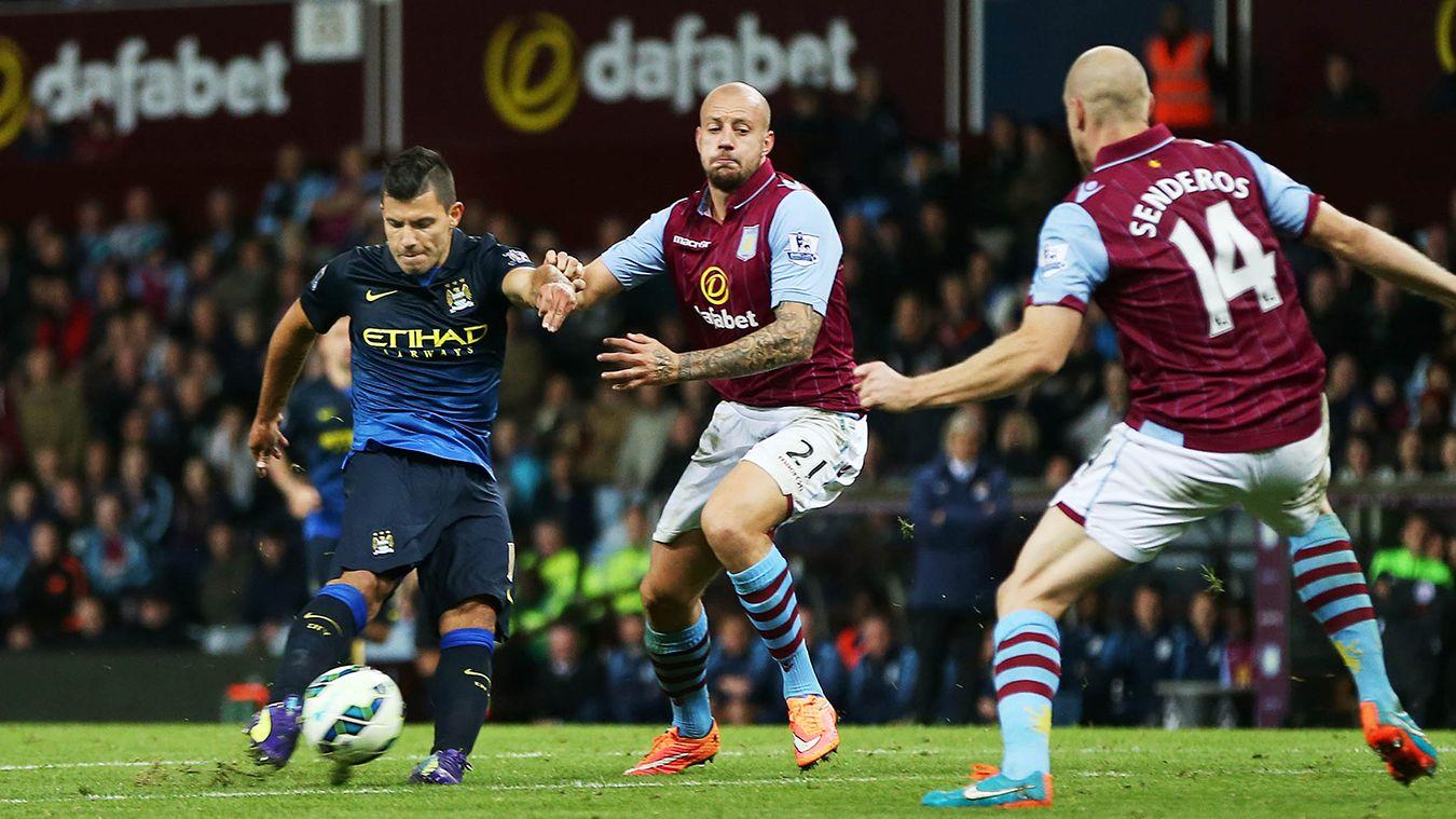 Aston Villa v Man City