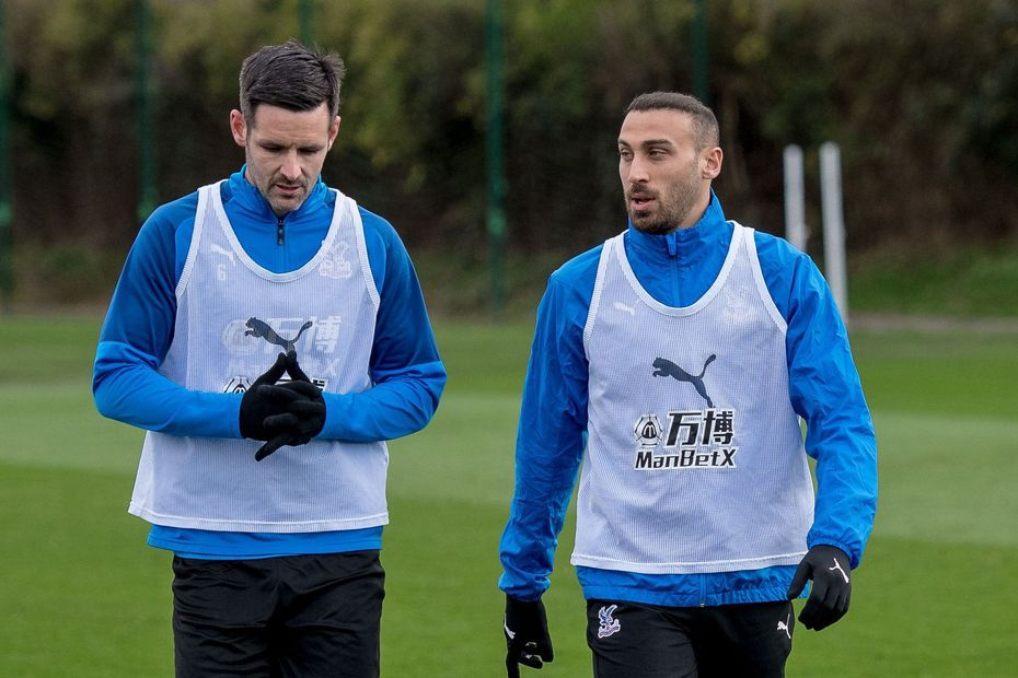 Cenk Tosun CRY training Scott Dann