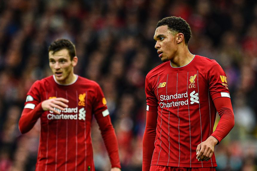 Andrew Robertson and Trent Alexander-Arnold