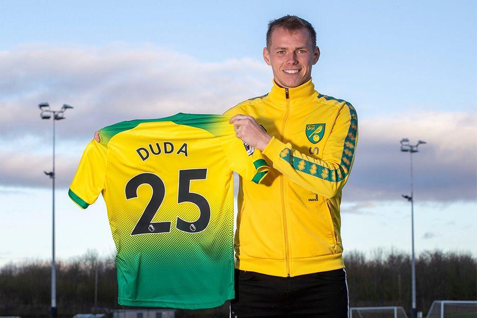 Ondrej Duda signs for Norwich City