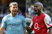 Aguero v Henry: How the star strikers compare