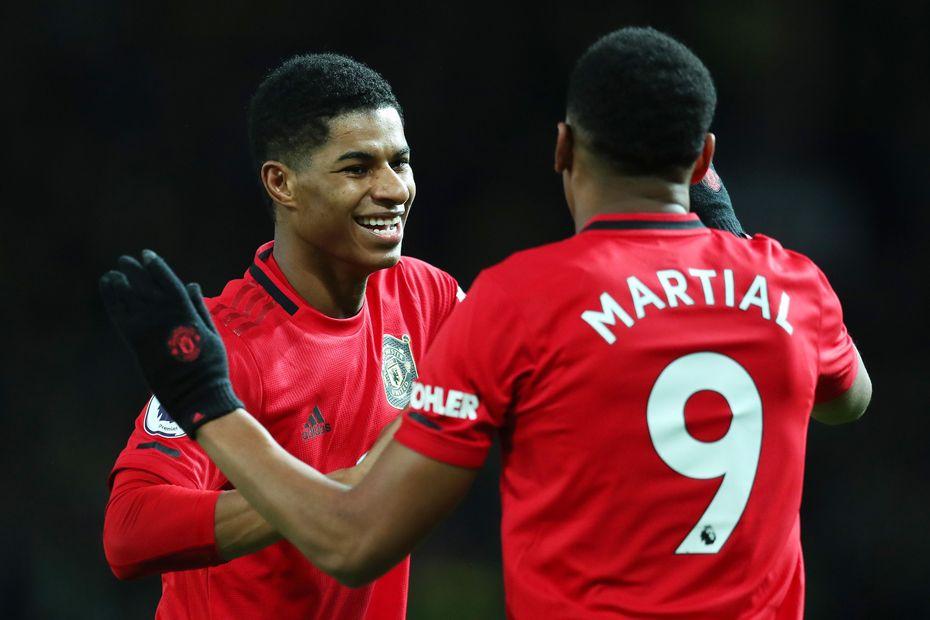 Rashford and Martial, Man Utd