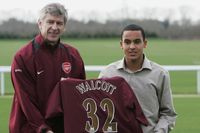 When Arsenal signed Walcott from Southampton in 2006