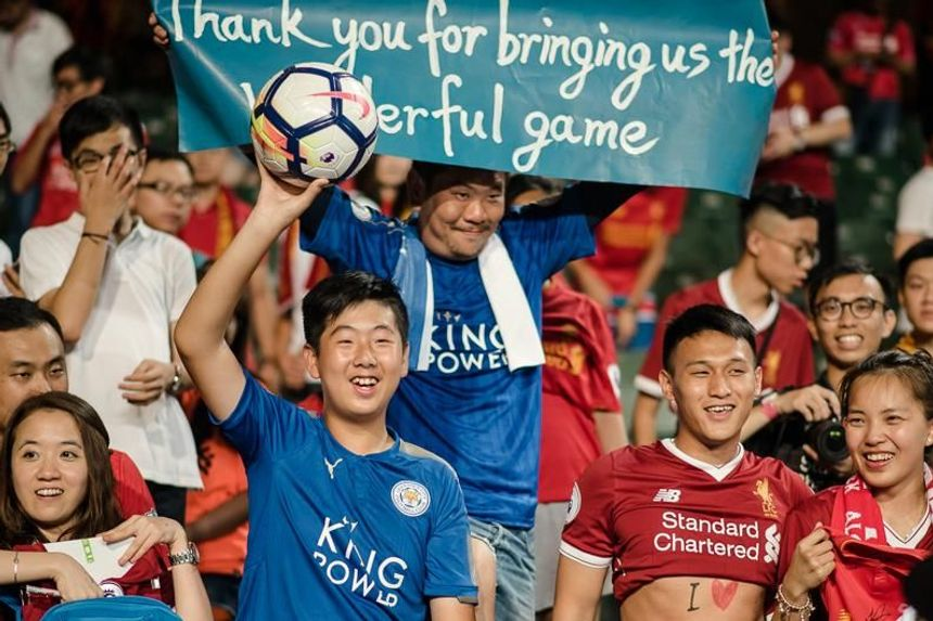 Asia Trophy fans