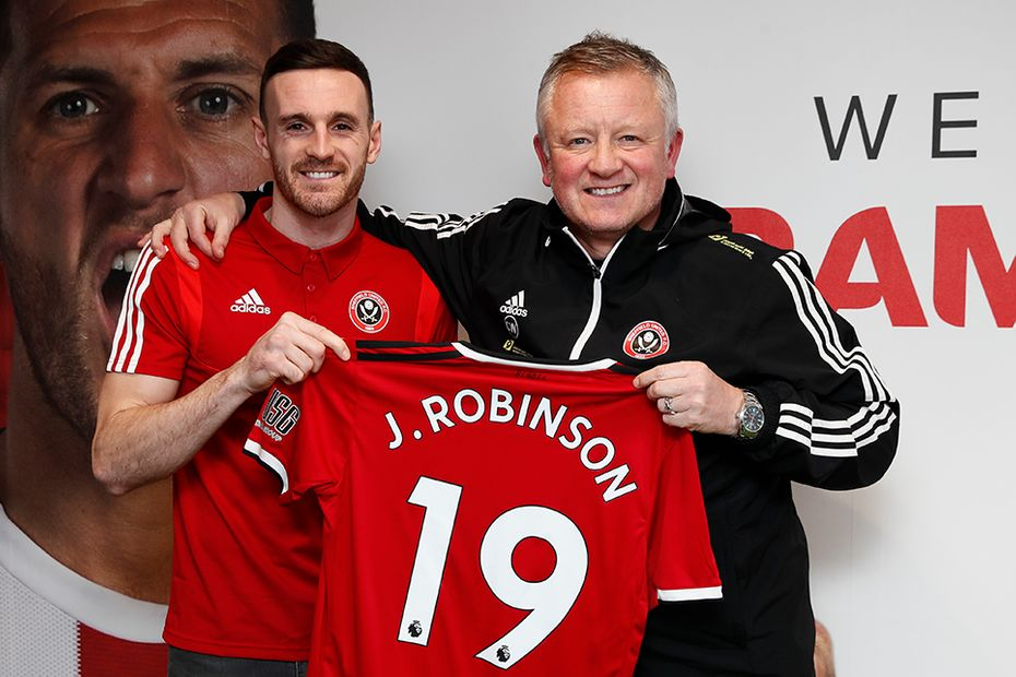 Jack Robinson signs for Sheffield United