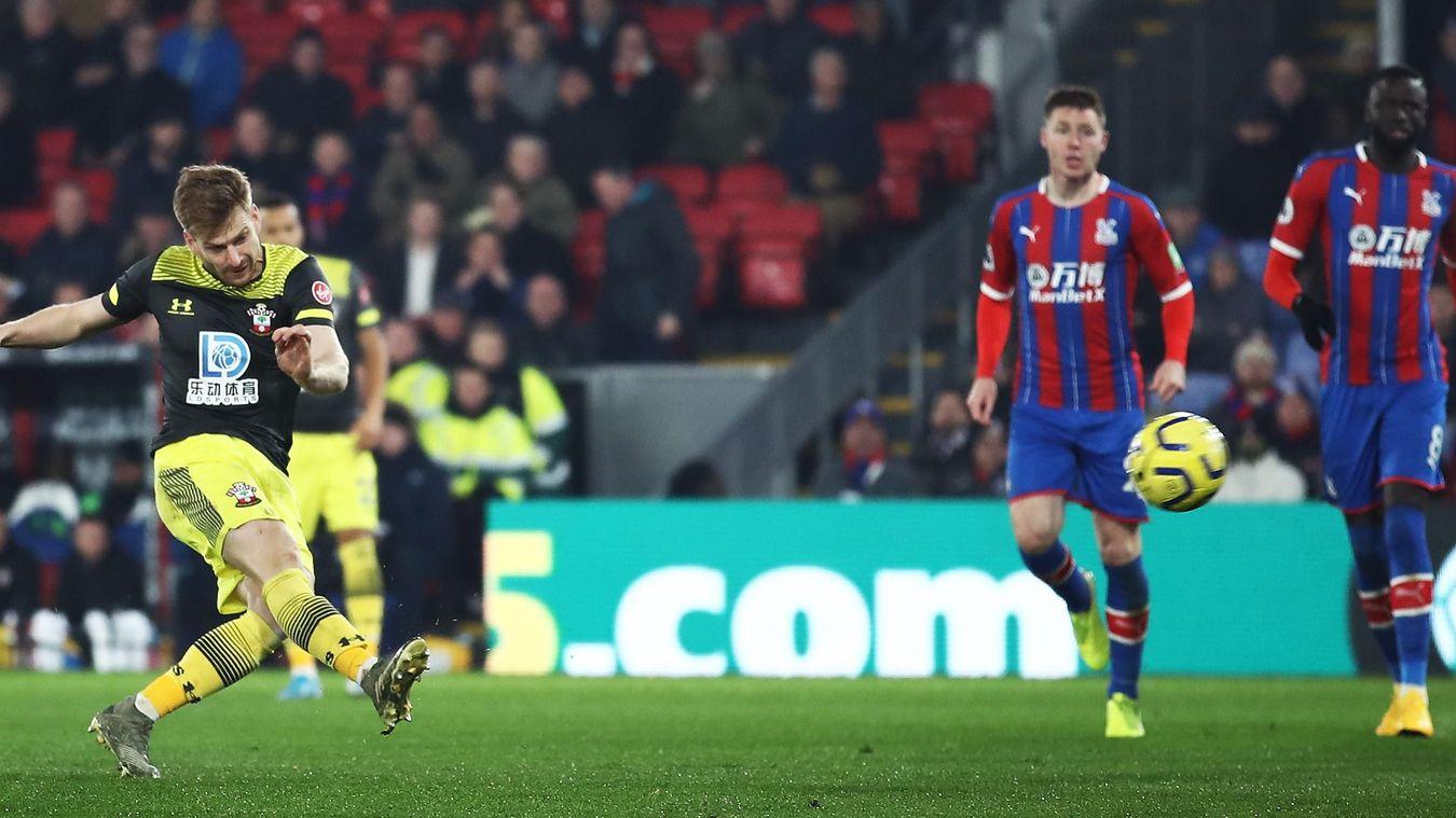 Crystal Palace 0-2 Southampton
