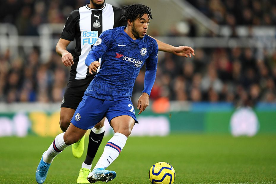 Reece James, Newcastle v Chelsea