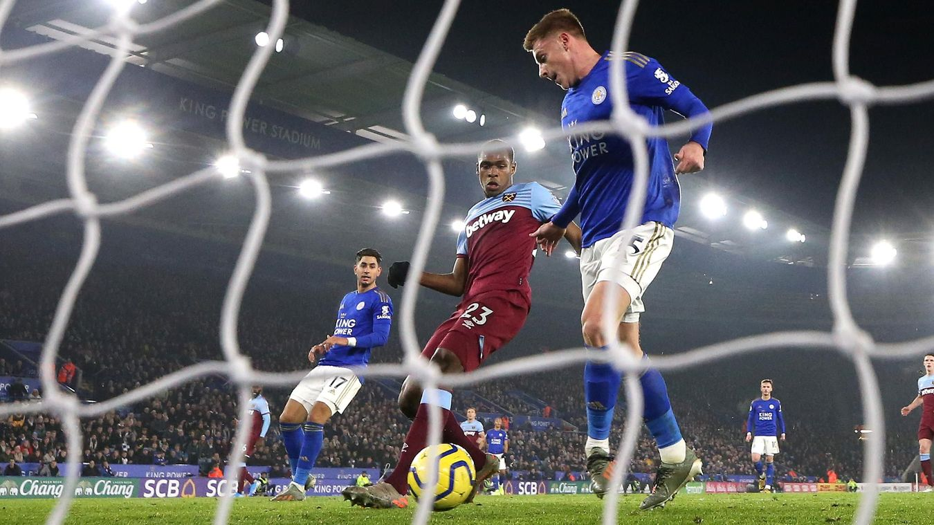 Leicester City 4-1 West Ham United