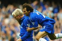 Goal of the day: Gudjohnsen's overhead kick