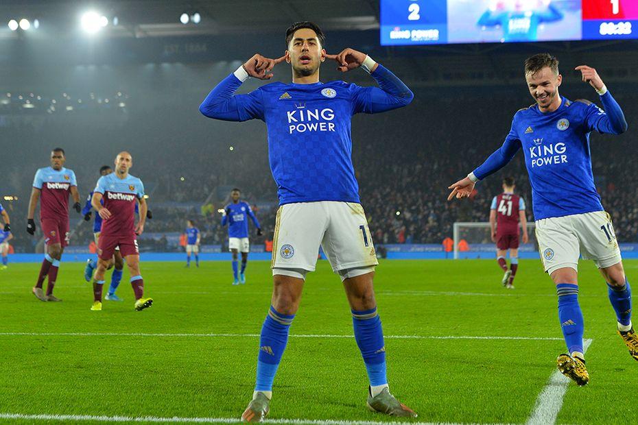 Ayoze Perez, Leicester City v West Ham