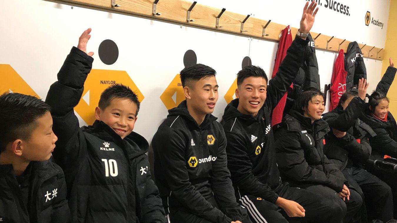 Jiangsu Subei's Wolves academy visit