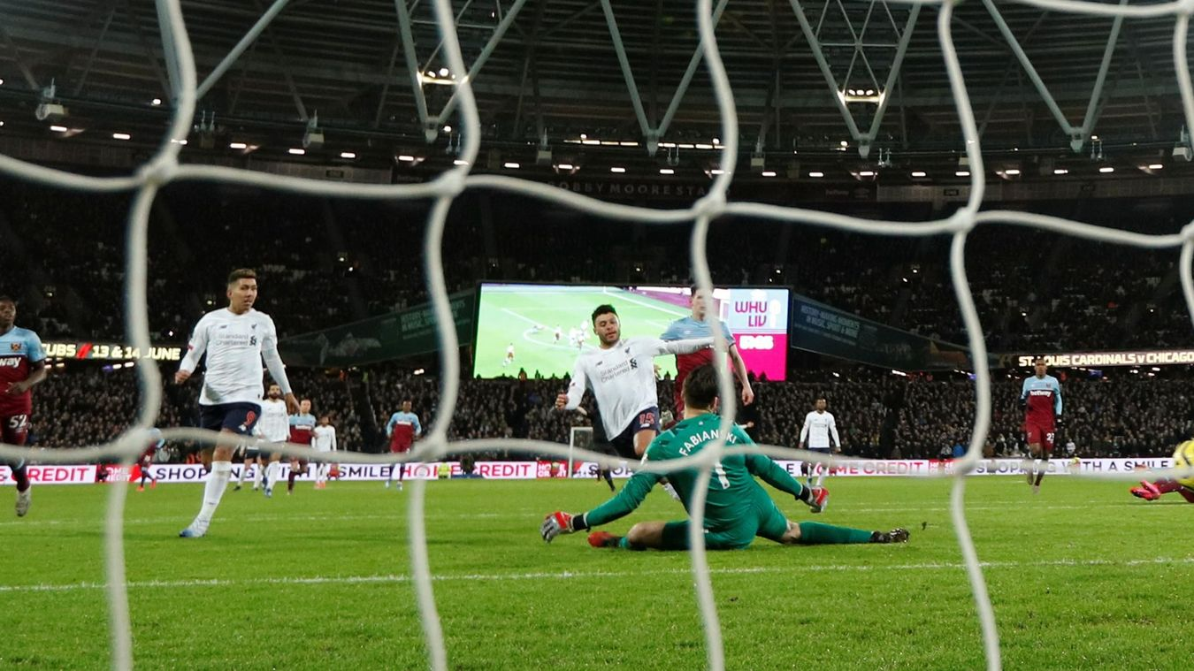 West Ham United 0-2 Liverpool