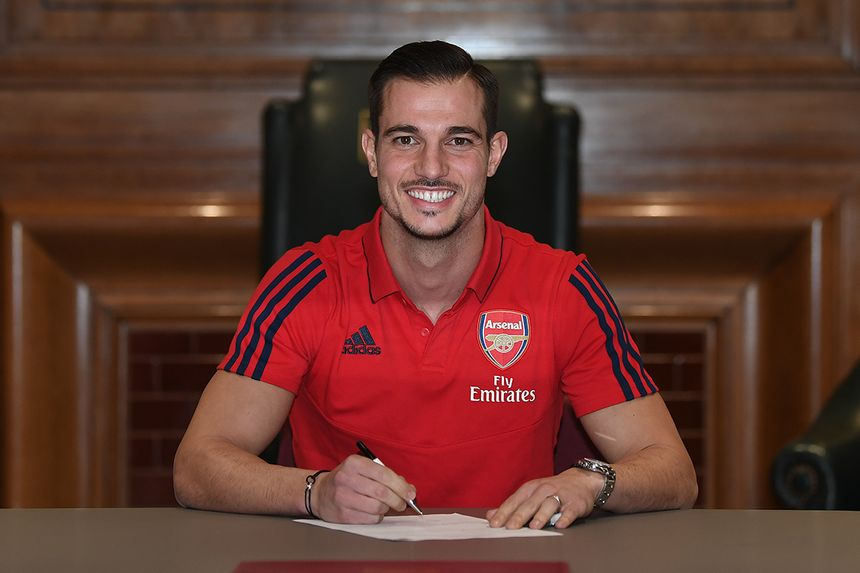 Cedric Soares signs for Arsenal