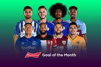January's Budweiser Goal of the Month contenders