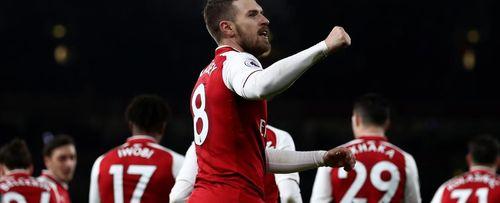 Flashback: Ramsey treble versus Everton