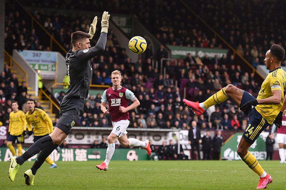 Nick Pope, Burnley v Arsenal