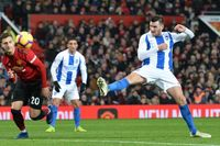 Flashback: Gross gets Brighton's first at Old Trafford