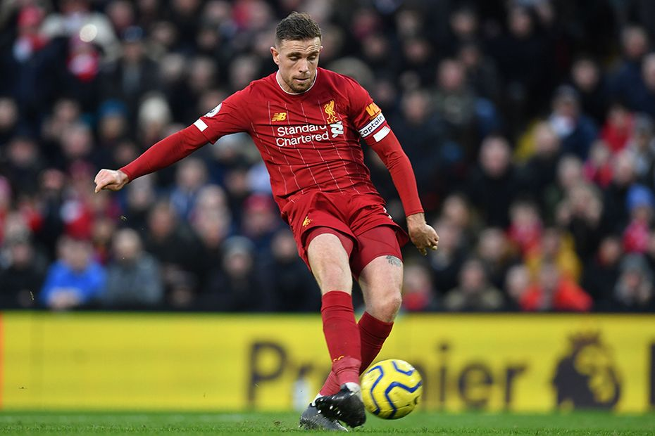 Jordan Henderson, Liverpool v Southampton