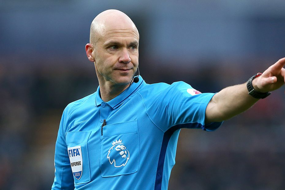 Anthony Taylor, referee
