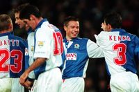 Goal of the day: Seventh heaven for Le Saux