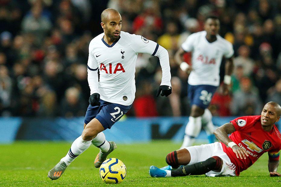 Lucas Moura, Tottenham Hotspu v Man Utd