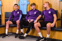 Man City youngsters open up for Heads Up campaign