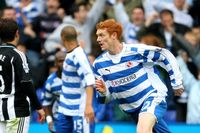 Goal of the day: Kitson's curler for Reading