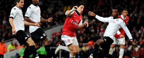 Goal of the day: Nasri walks in Arsenal team move