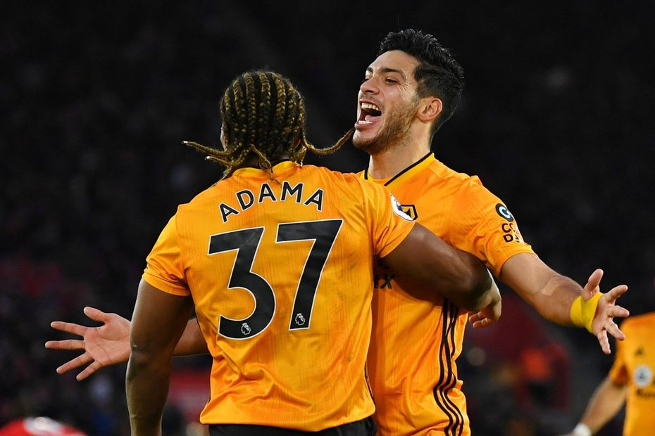 Jimenez and Traore, Wolves