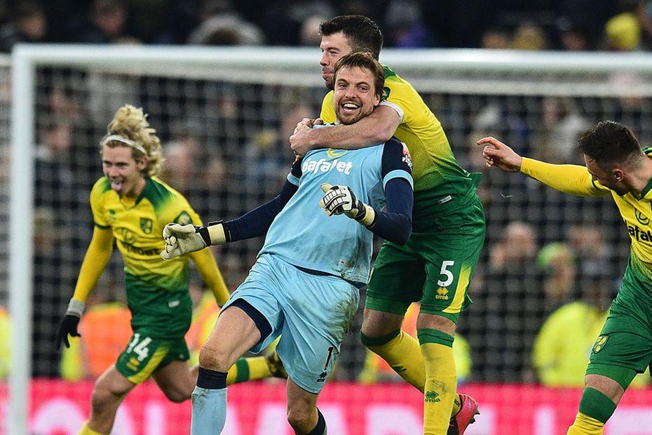 Spurs v Norwich City, FA Cup