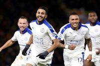 Goal of the day: Mahrez keeps Leicester on title charge