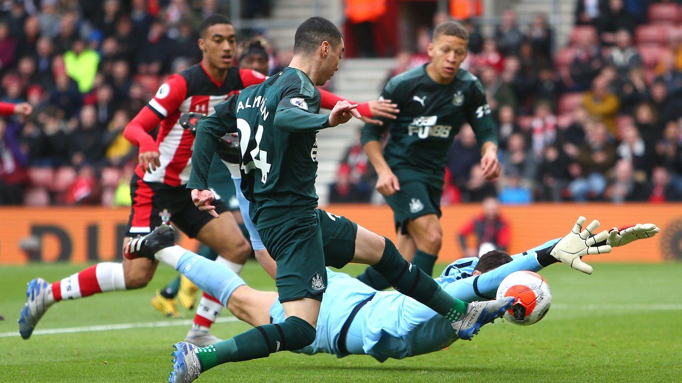 Southampton 0-1 Newcastle United