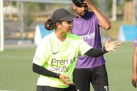 Tanaz aiming to inspire female coaches in India