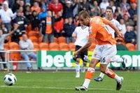 Goal of the day: Varney makes Blackpool home history