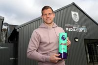 Birthday boy Vydra's 'special' Budweiser Goal of the Month
