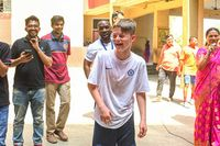 Riley inspired by trip to Mumbai with Chelsea U14s