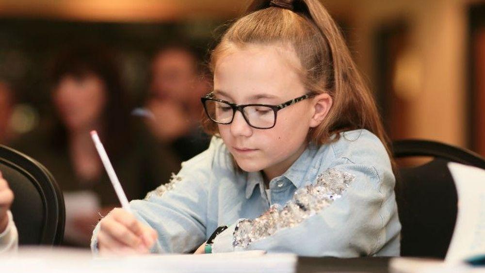 PLPS Writing Challenge girl