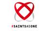 Saints As One logo white