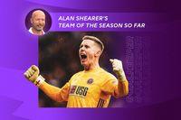 Alan Shearer's team of the season so far: Goalkeeper