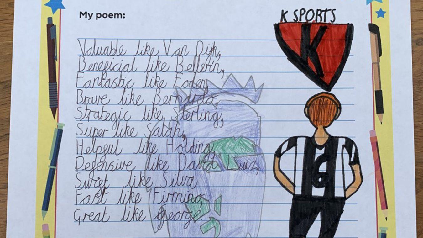 George's Ambition poem
