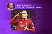 Alan Shearer's team of the season so far: Defenders