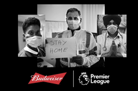 Budweiser supporting health workers with supplies