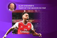 Alan Shearer's team of the season so far: Forwards